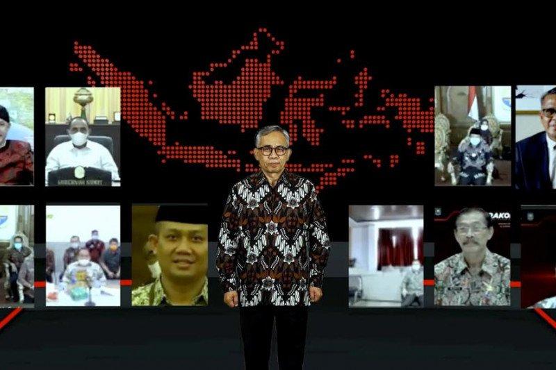 Nurdin Abdullah paparkan peran TPAKD Sulsel dalam pemulihan ekonomi nasional