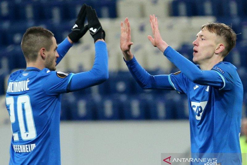 Hoffenheim tutup penampilan fase grup dengan menang 4-1 atas Gent