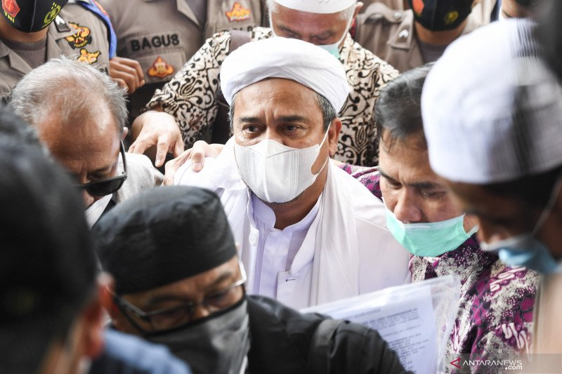 Polisi fasilitasi kebutuhan Rizieq selama pemeriksaan