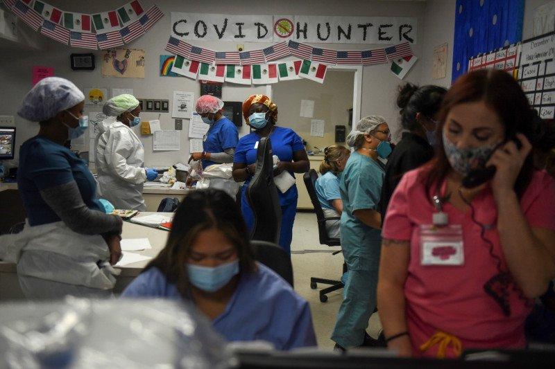 Korban jiwa terinfeksi COVID di AS hampir 500.000 orang