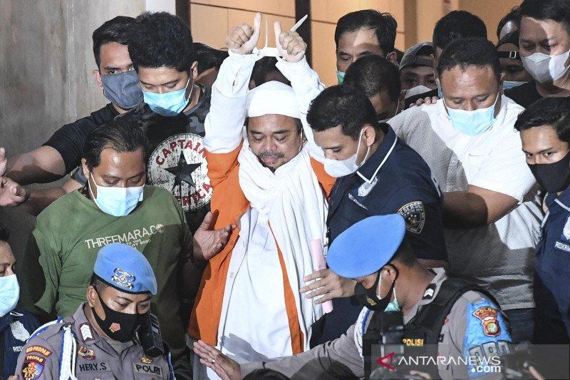 Rizieq Shihab ditahan