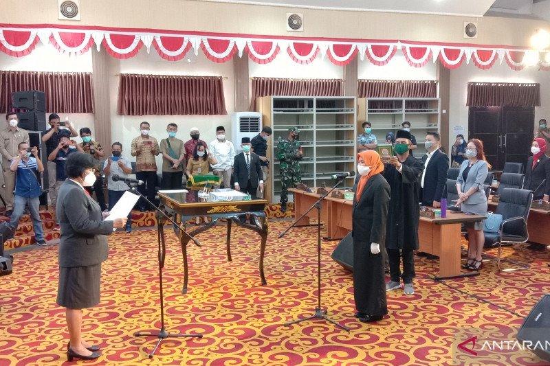 DPRD gelar paripurna lantik Nur Amalia gantikan Sa'afa