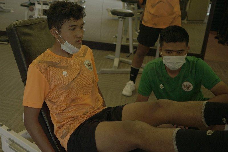 Pelatih puas dengan perkembangan fisik pemain timnas U-16