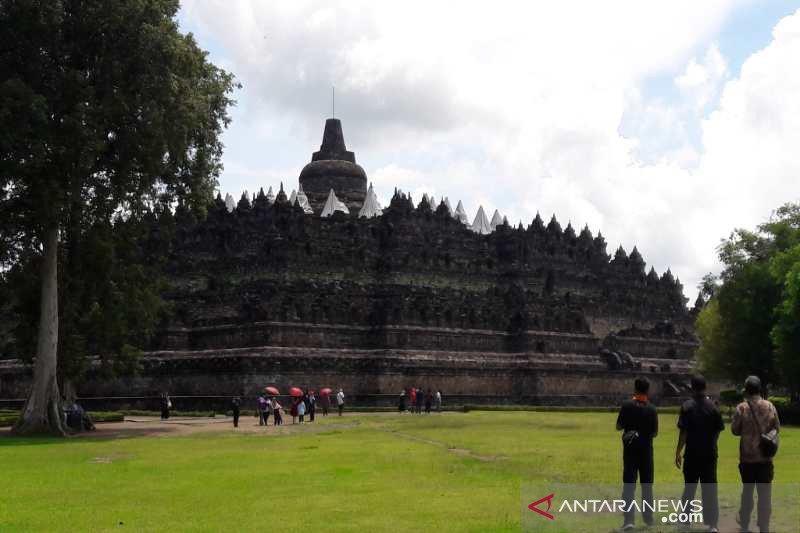 Pemandu zona I Candi Borobudur tidak diberlakukan