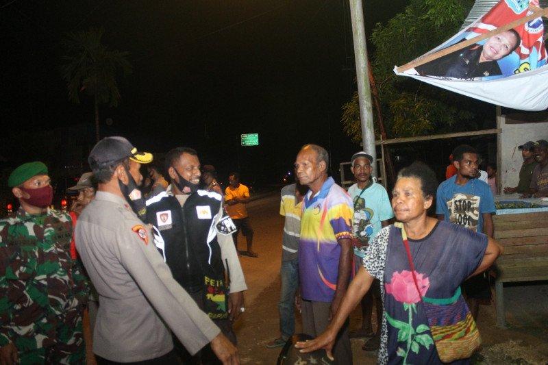 Polres Biak Numfor gelar patroli malam cegah aksi kriminalitas jelang Natal
