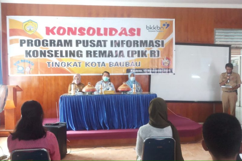 BKKBN Sultra Gelar Konsolidasi PIK Remaja di Baubau