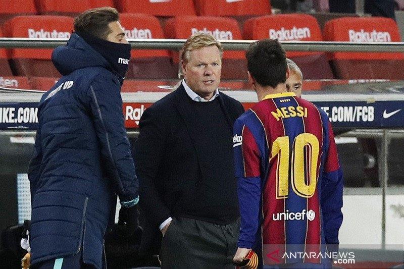 Lionel Messi sangat bersemangat kembali ke skuat Barcelona
