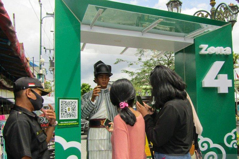Kawsan wisata Malioboro tambah sarana prasana pendukung protokol kesehatan