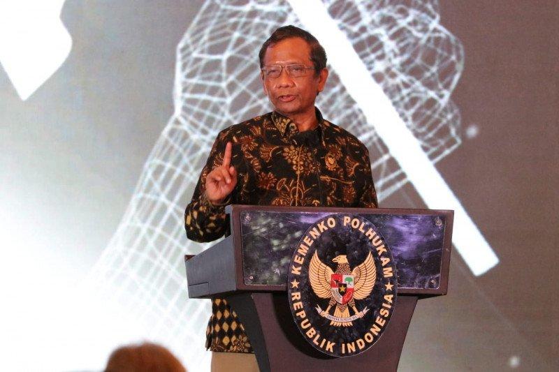 Menkopolhukam Mahfud MD nilai Satgas Saber Pungli masih diperlukan di Indonesia