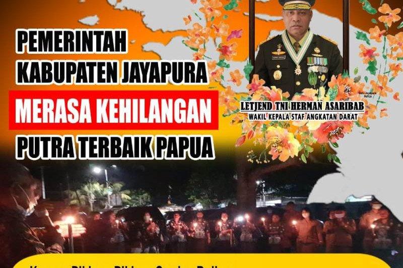 Pemkab Jayapura merasa kehilangan putra terbaik Papua Letjen Herman Asaribab