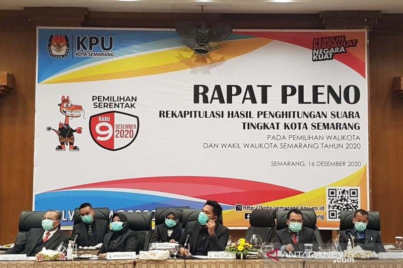 Hendi-Ita menangi Pilkada Kota Semarang dengan 716.693 suara