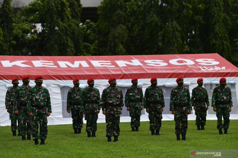Waket DPR Azis Syamsuddin harapkan Kopassus terus bantu program pemerintah