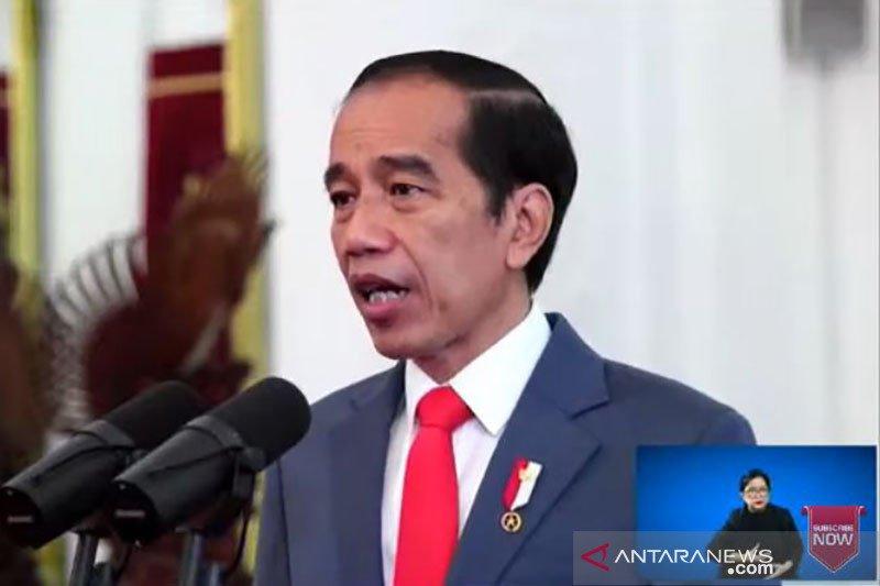 Presiden Jokowi: Pemerintah akan lanjutkan sejumlah kebijakan di 2021