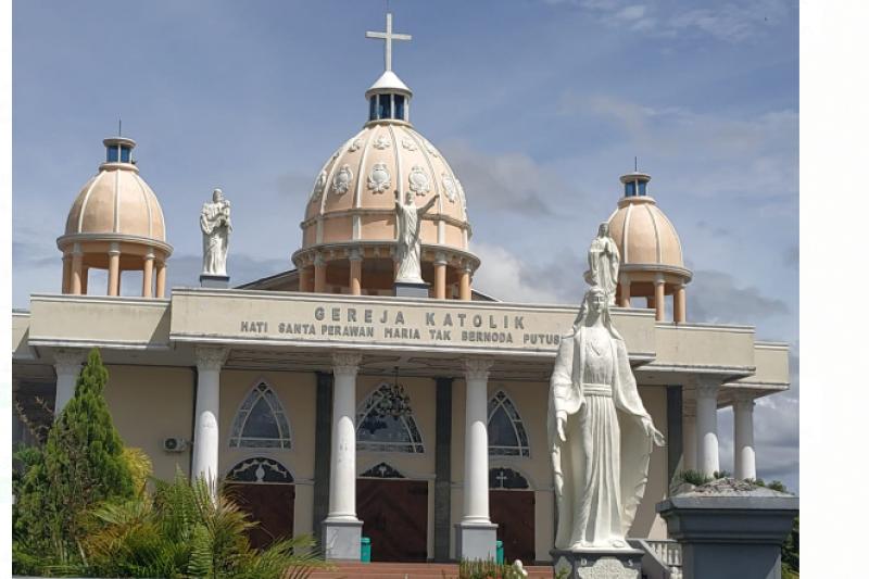 Gereja Katolik Putussibau Siap Terapkan Prokes Saat Perayaan Natal Antara News Kalimantan Barat