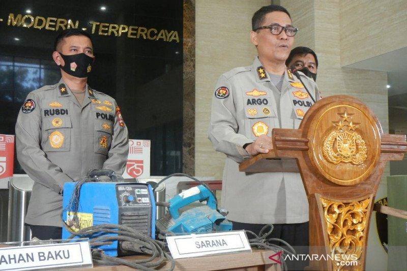 23 teroris Jamaah Islamiyah ditangkap di 8 lokasi di Sumatera, termasuk Bandarlampung