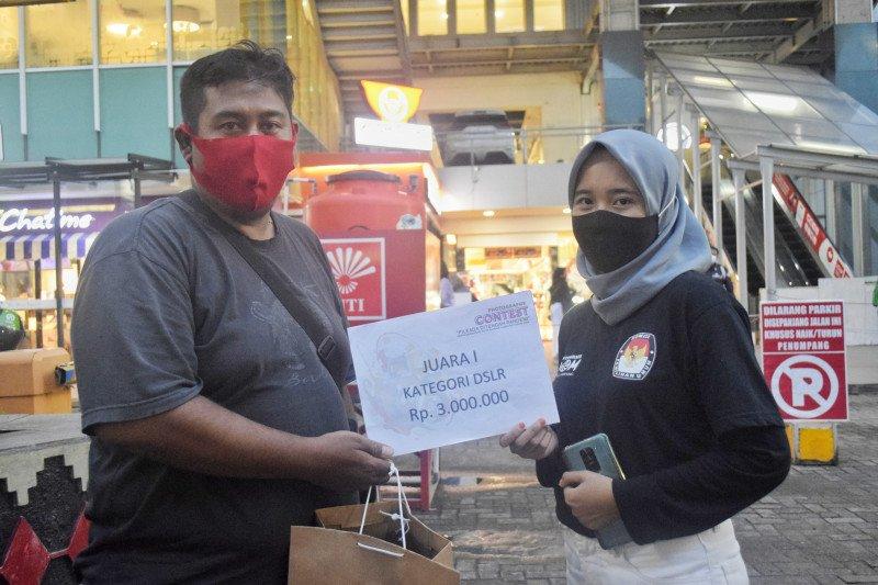 Pewarta foto LKBN ANTARA Lampung raih juara pertama lomba foto KPU Bandarlampung