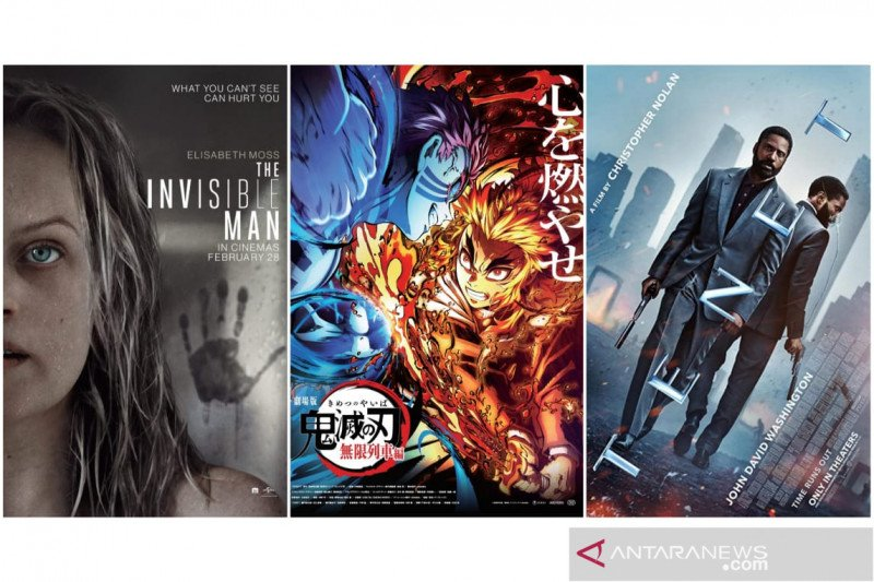 """""""Tenet"""" hingga """"Demon Slayer"""", film box office saat pandemi"""