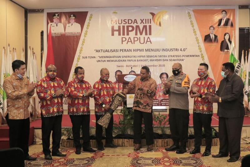 Wakapolda Papua hadiri Musda HIPMI XIII
