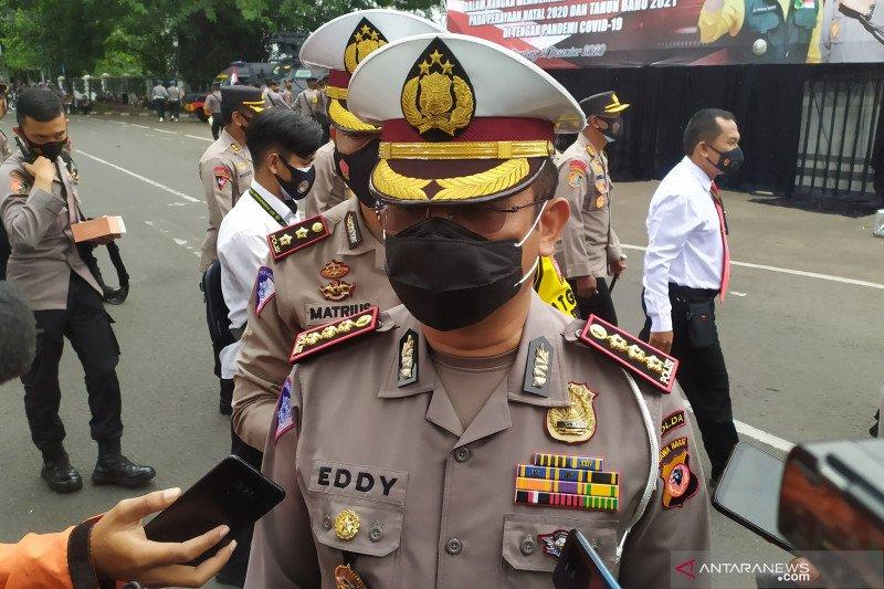 Polda Jawa Barat amankan tiga jalur lalu lintas saat Operasi Lilin 2020