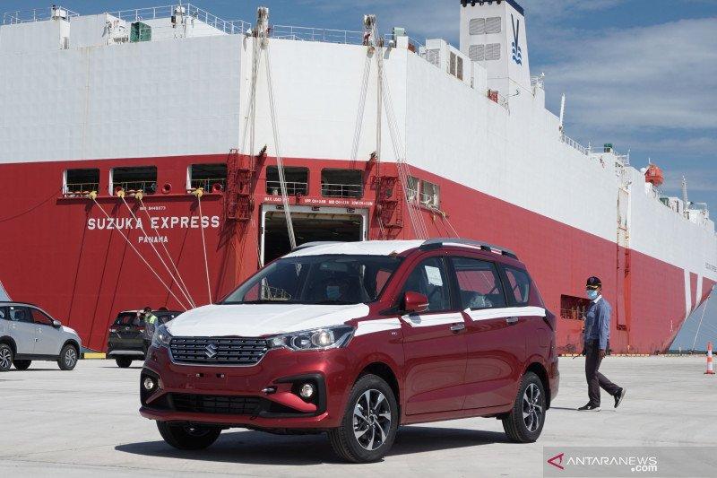 Suzuki ekspor All New Ertiga lewat Pelabuhan Patimban