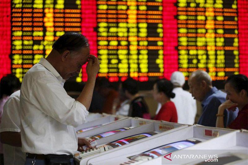 Saham China dibuka lebih rendah dari sesi sebelumnya