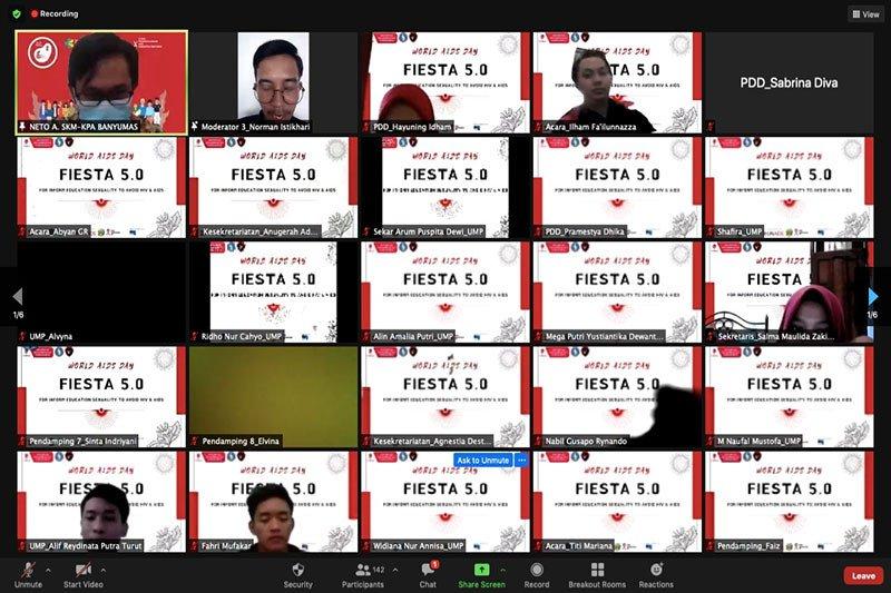 PIK-Ma Youth Center UMP peringati Hari AIDS Sedunia secara daring