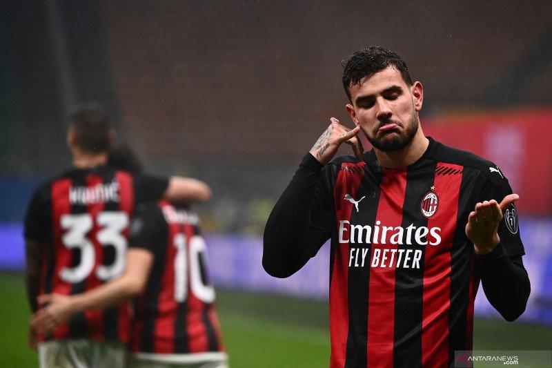 AC Milan tutup 2020 sebagai capolista Liga Italia seusai bekuk Lazio 3-2