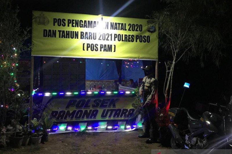 Polres Poso  bangun tujuh pos pengamanan Natal dan tahun baru
