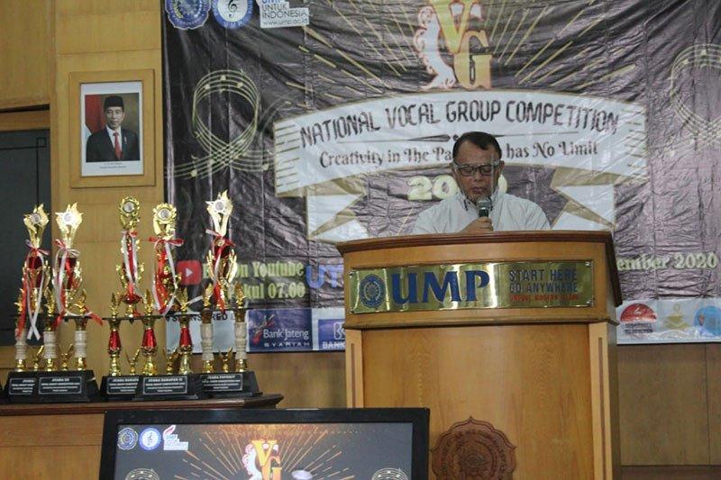 """PSM Gema Surya Suara UMP gelar """"National Vocal Group Competition 2020"""""""