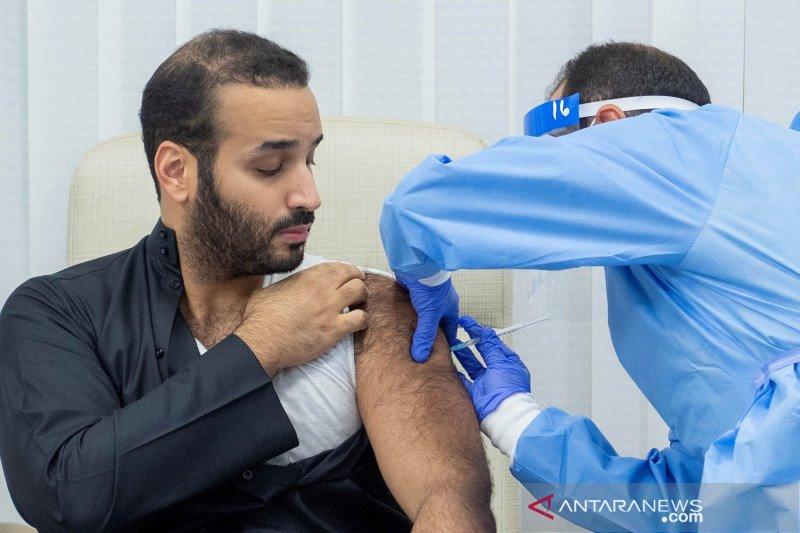 Putra Mahkota Arab, Mohammed bin Salman terima dosis pertama vaksin COVID-19
