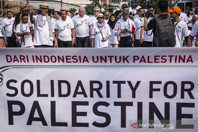 Indonesia beri komitmen bantuan Rp32,1 miliar untuk Palestina