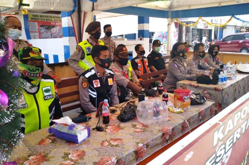 Pengamanan operasi lilin Matoa wilayah Abepura berjalan aman