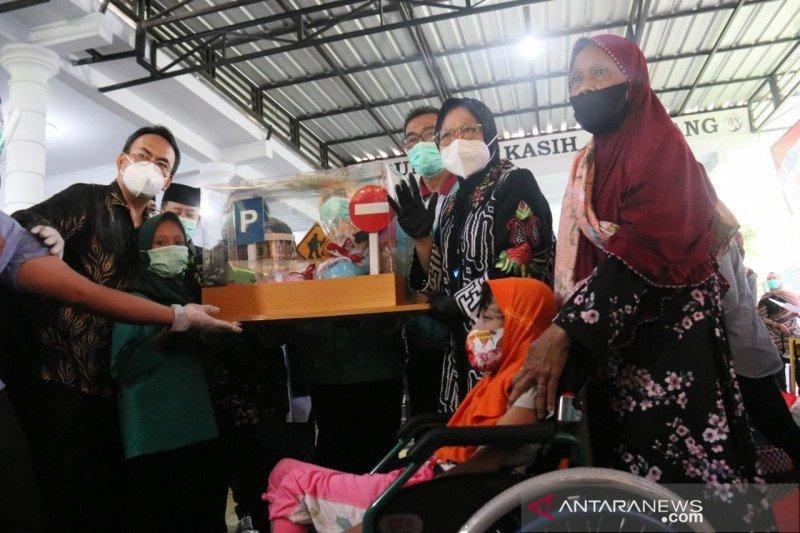 Mensos Rismaharini: Beri layanan terbaik bagi penyandang disabilitas
