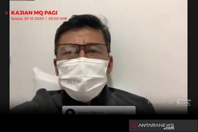 Penceramah kondang asal Bandung, Aa Gym menyatakan dirinya terinfeksi COVID-19