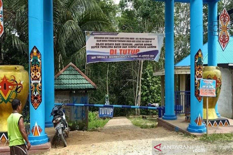 Pemkab Barut  tutup seluruh tempat wisata  selama libur Lebaran