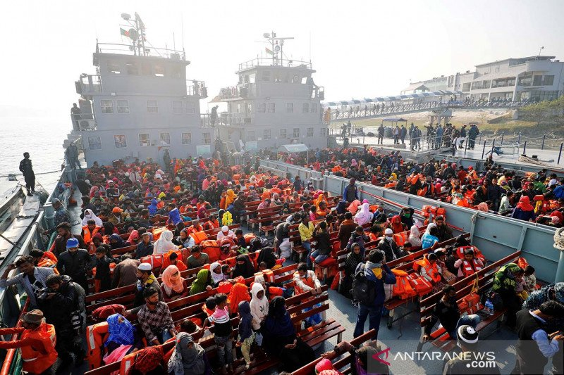 "Bangladesh kembali ""kirim"" ribuan pengungsi Rohingya ke Bhasan Char"
