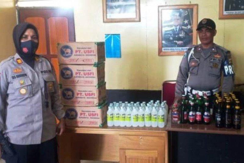 Polisi Paniai gencarkan razia miras jelang pergantian Tahun Baru