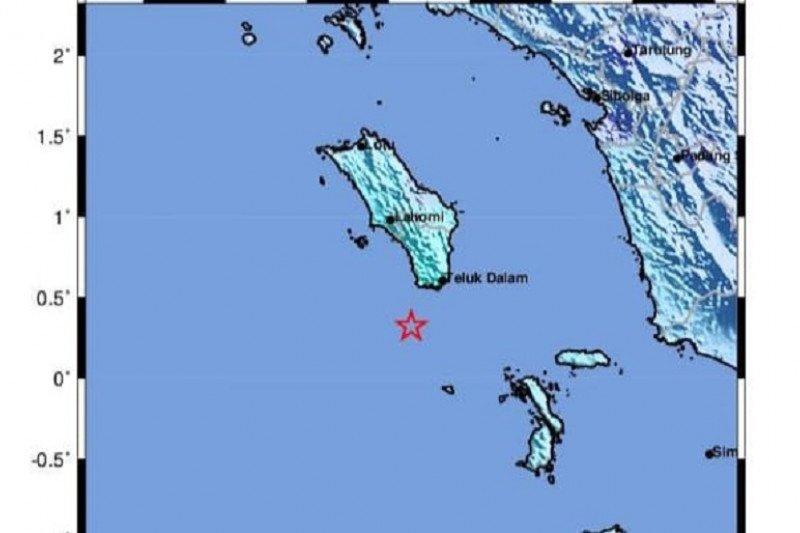 Akhir tahun 2020 ditandai gempa  di Maumere dan Nias