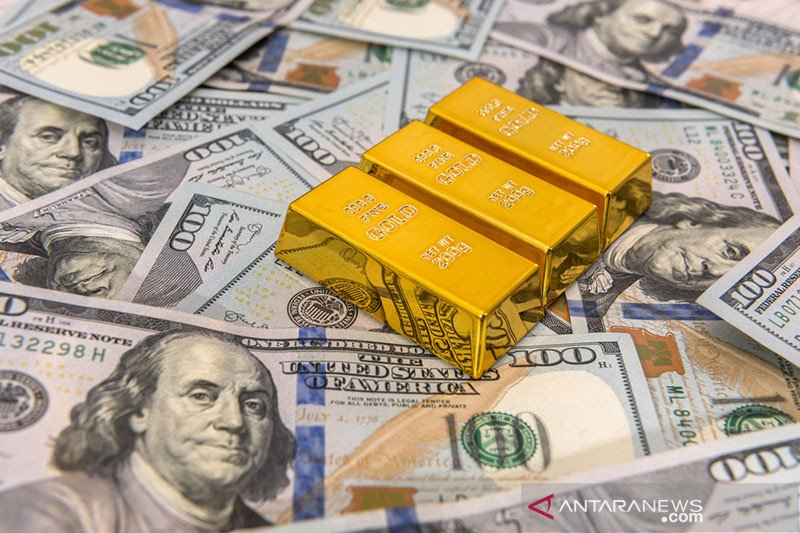 Dolar AS menguat setelah tiga hari jatuh karena sentimen risiko berkurang