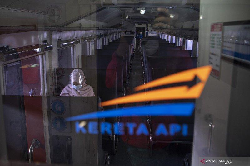 Kereta Api Tujuang Lampung Kembali Beroperasi