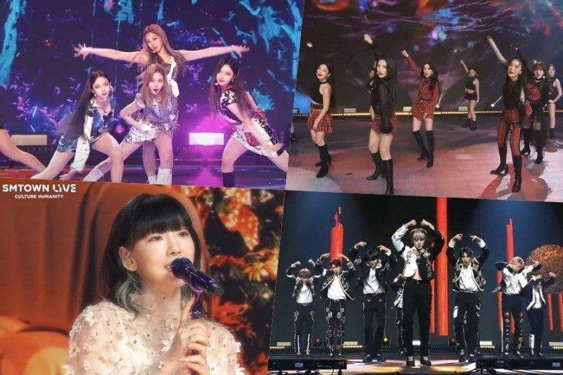 "Konser virtual ""SMTown Live"" raih 35,8b juta penonton"