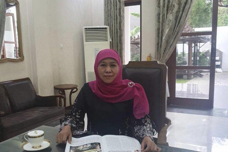 Gubernur Jatim Khofifah Parawansa terinfeksi COVID-19