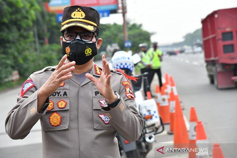 333 titik penyekatan jalur mudik mulai dari Lampung hingga Bali
