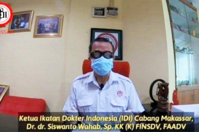 """Sembilan dokter di Kota Makassar """"gugur"""" terpapar COVID-19"""