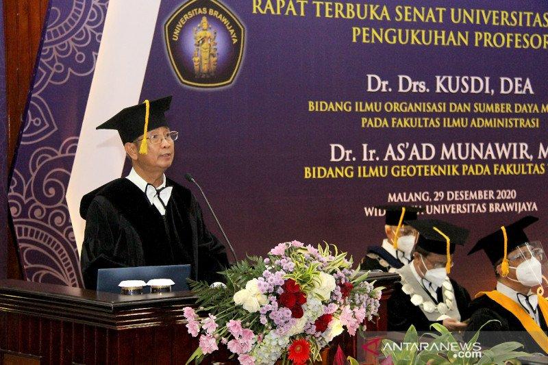 Pakar UB Prof Kusdi: Teori organisasi mengalami pergeseran perspektif