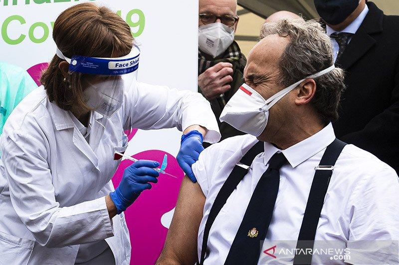 Italia akan ambil langkah hukum karena tertundanya pengiriman vaksin COVID-19