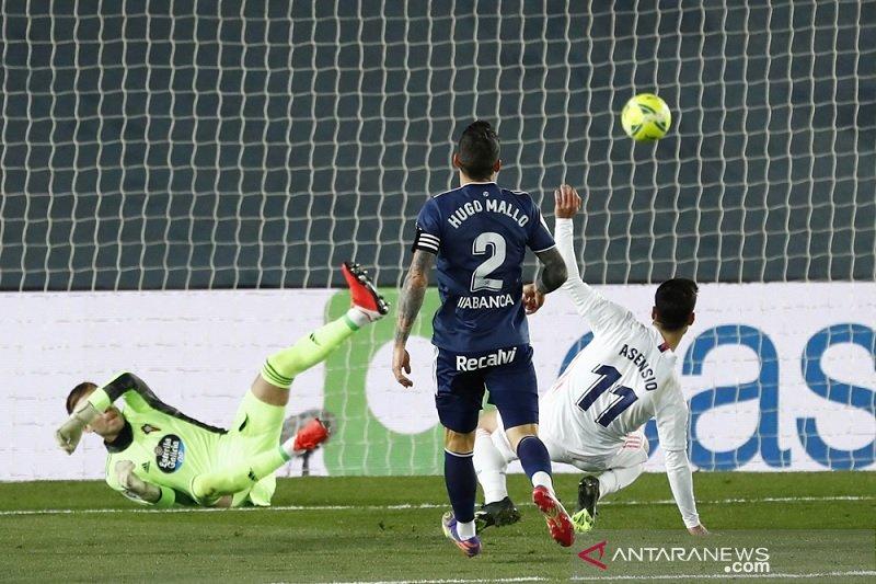 Madrid awali 2021 dengan tundukkan Celta Vigo 2-0