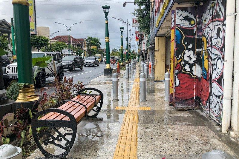 Revitalisasi pedestrian Yogyakarta dilanjutkan dengan penataan PKL