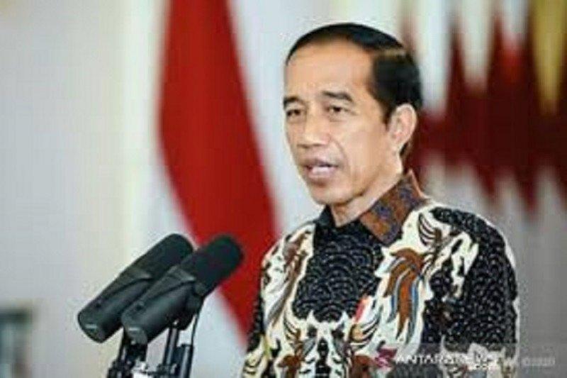 Presiden : Ekonomi nasional mulai bangkit, banyak investasi di awal 2021