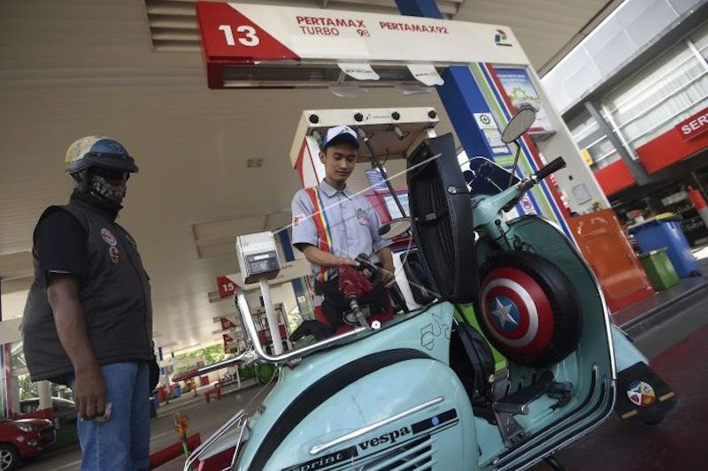 Harga Bahan Bakar Khusus di Bengkulu sudah berubah sejak 1 Januari 2021